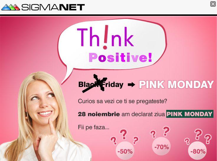 SigmaNET Pink Monday